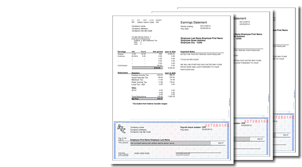 PayCheck Stub Online FREE Instant preview – Pay Stub Samples Free