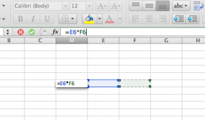 Pay stub calculation example